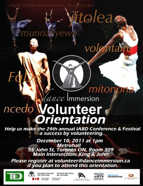 Volunteerorientation