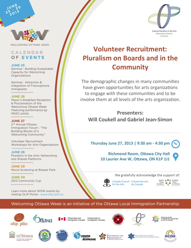Volunteer Recruitment: Pluralism on Boards and in the Community