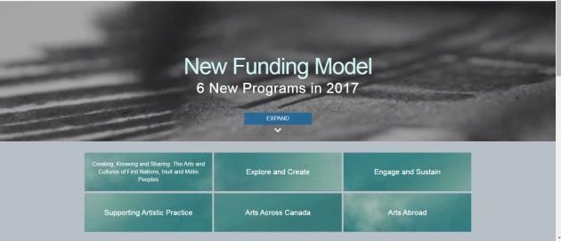 screen shot of CCA website