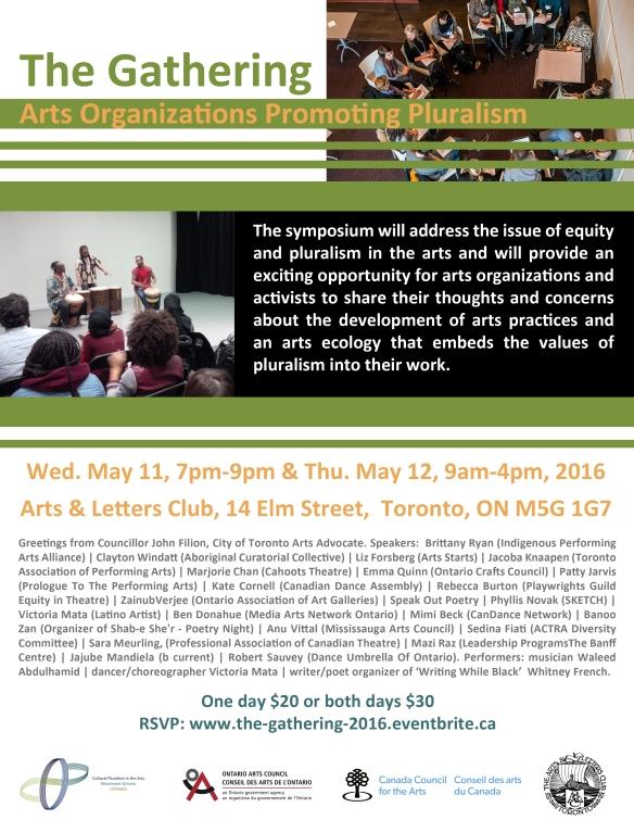 The Gathering: Arts Organizations Promoting Pluralism